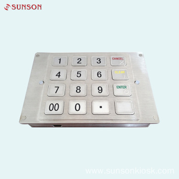 PCI V5 Approved Keyboard for Card Vending Kiosk