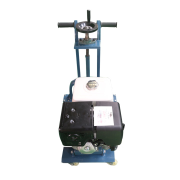 Portable highway road slotting machine