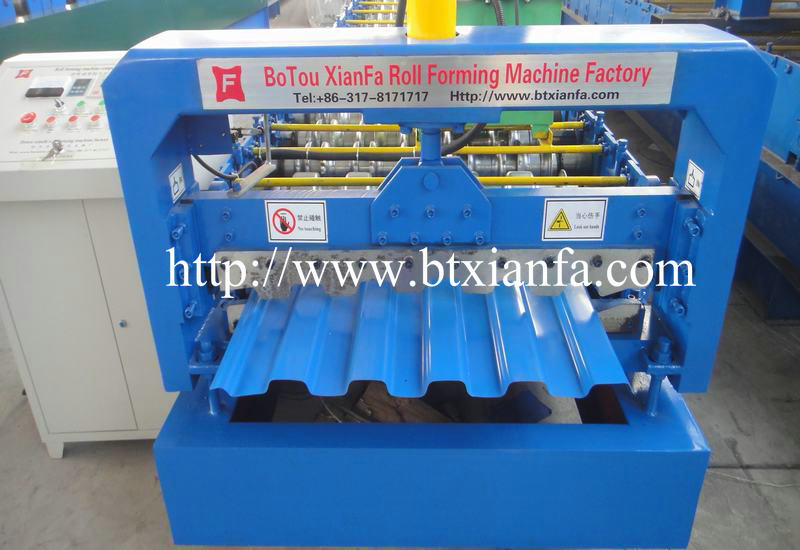 IBR Steel Wall Panel Roll Forming Machine