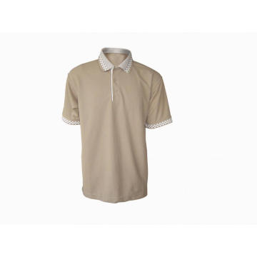 65% polyester 35% cotton man's polo-shirt short sleeve
