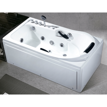 Portable Whirlpool Massage Bathtub Air Glass Tub Heater
