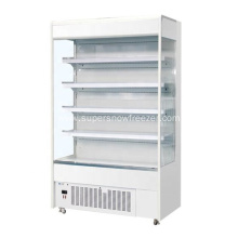 commercial open multi-deck display chiller refrigerator