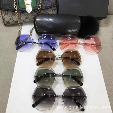 Colorful Reflective Sunglasses For Female