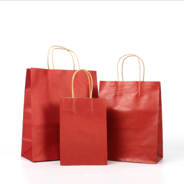 Kraft Paper Bag with Handle Biodegradable