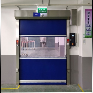 PVC curtain high-speed folding up door