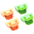 4PCS/Pack Portable ABS Practical Food Sealing Very Strong Clamp Clip Powder Food Package Bag Clip