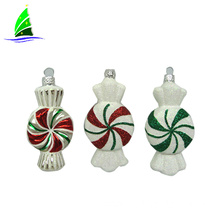 Christmas unique ornament crafts glass candy-shaped ornament
