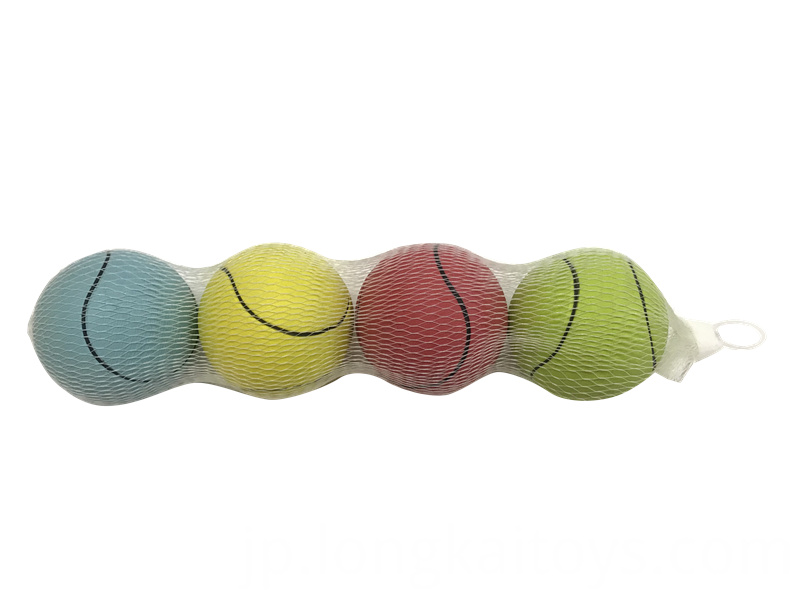Tennis Squeaker Toy