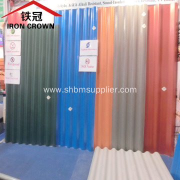 Aluminum Foil Mgo Roofing Sheet