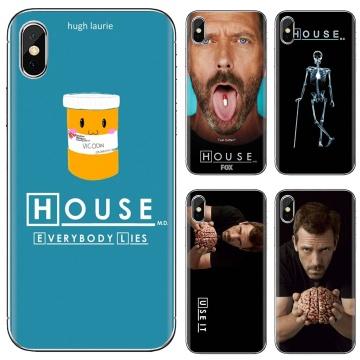 Soft Case For Huawei P8 P9 P10 P20 P30 P Smart 2019 Honor Mate 9 10 20 8X 7A 7C Pro Lite Dr House Gregory Hugh brain Pills