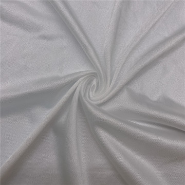 40 Denier White Yoga Swing Tricot Tulle Fabric