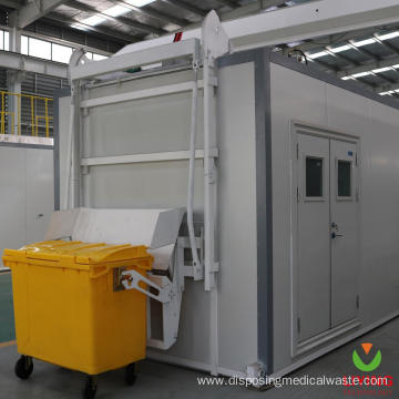Biohazard Infectious Waste Disinfection System