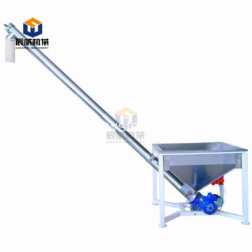 Fully enclosed Spring feeder/conveyor for powder