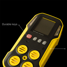CD4 Gas Detector With LED Screen Wildy Application
