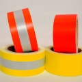EN469 Cotton Yellow/Orange Warning Tape Flame Reflective