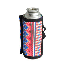 6.5x9.9cm Gas Canister Cover Protector Fuel Canister Storage Bag Camping Hiking Gas Cylinder Tank Accessories Outdoor Tools