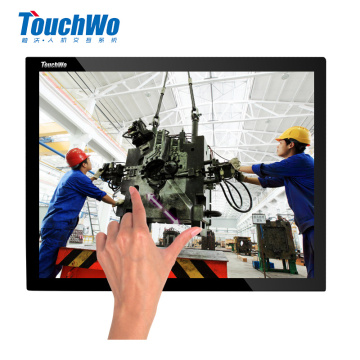 12.1 industrial d sub touch screen monitor
