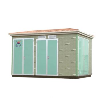 Environmental non-metal box-type substation