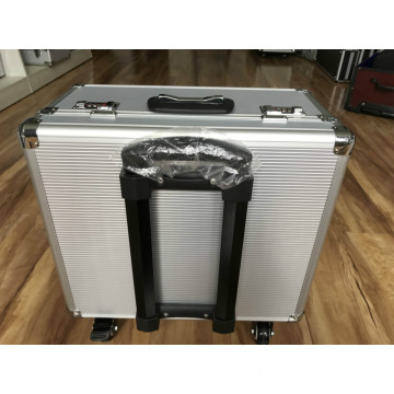 Aluminum Flight Case with Wheels and Tool Pallet