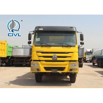 Yellow 18m3 dump truck of sinotruk