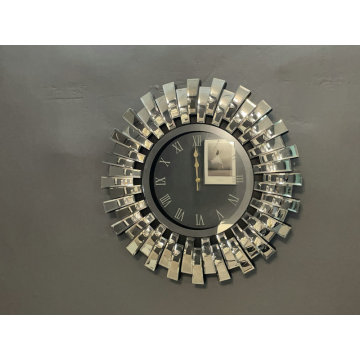 Mirrored Decor Creative Mordenwall Clock