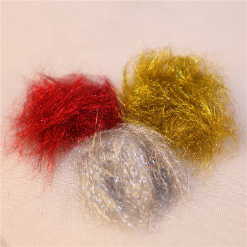 4.0 Denier 54mm Shiny Metallic Fiber for crafts