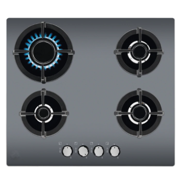 Electrolux Hobtop Italy Tempered Glass 4 Burner