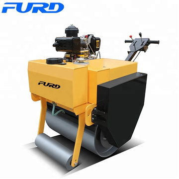 Diesel Power Hand Operated Compactor, Soil Compaction Equipment, Mini Road Roller(FYL-700C)