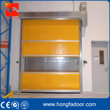 Stainless Steel Frame High Speed Performance Door