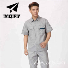 Wholesale short sleeve factory worker clothing uniform