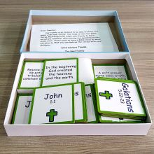 Superior Quality Flash Cards Story Paper Card Game