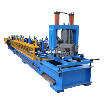 automatic c and z purlin roll forming machine