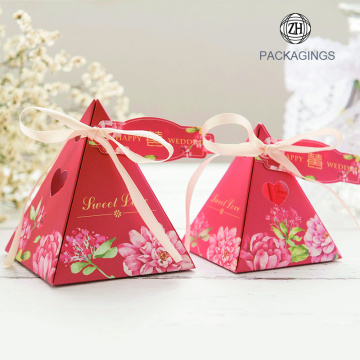 Foldable Wedding Favors Candy Chocolate Gift Paper Box