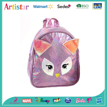Cartoon purple laser backpack