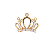 Princess Crown Pendant Inlaid Zircon