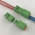 2pin spring male to female pluggable terminal block