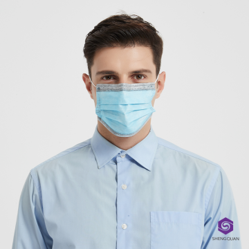 3-Ply Non-woven Eco-friendly Graphene Disposable Face Mask
