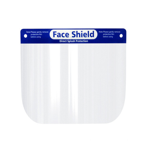 High protective face shield masks