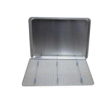Aluminum Sheet Pan with Cooling Rack