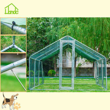 Convenient assembling poultry cage and hen feeding cage