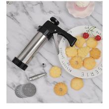 Stainless steel mounted gun cookies gun maker DIY baking tools kitchen tools