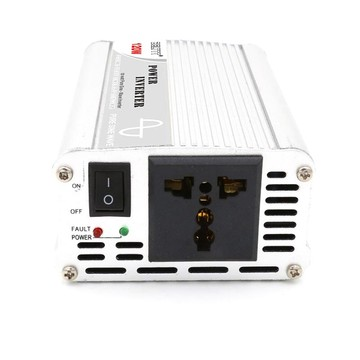 Mini Pure Sine Wave Inverter 120W Silver-White Appearance