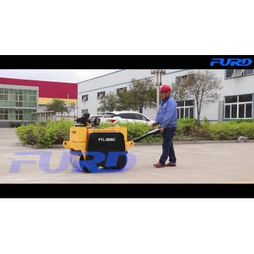 550KG Smooth Wheel Manual Roller Compactor (FYL-S600C)