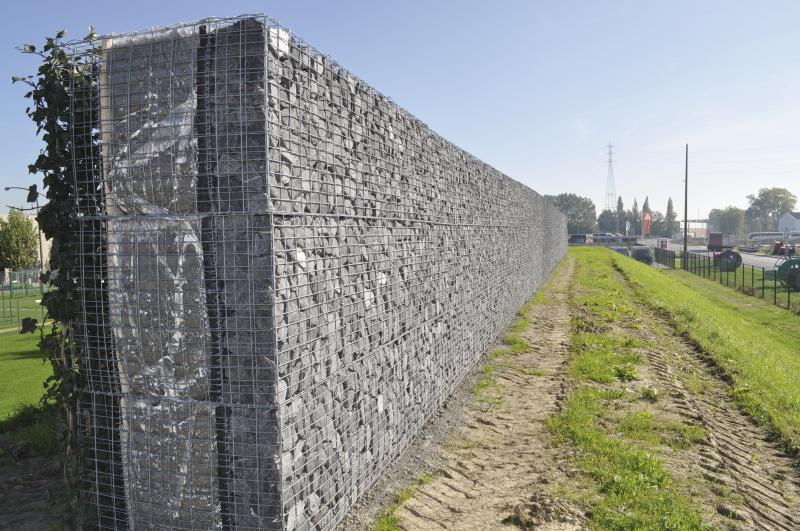 riverbed protection galvanized gabion welded gabion box