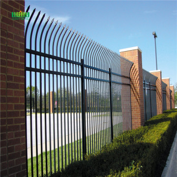 High Security  Galvanzied  Zinc Steel Fence