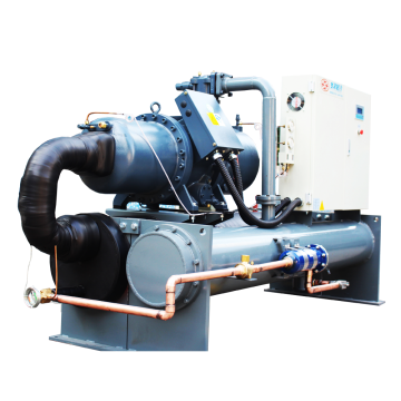 Water Cooled Screw Industrial Chiller Super cooling