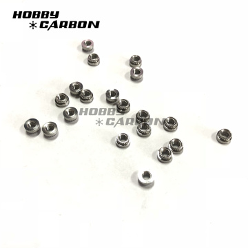 M3 Press Nuts for Screws on Carbon