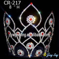 rhinestone pageant crowns Flower Shape