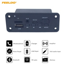 FEELDO Car MP3 WMA Decoder Board Audio Module 2 x 3W Amplifier Radio FM Receiver USB TF Port Bluetooth MP3 Player DC5V