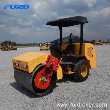 3 ton Weight of Rubber Tire Vibratory Road Roller for Sale